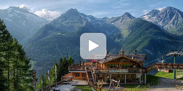 Webcam Bergstation Kabinenbahn Klausberg - Kristallalm 1.610m im Ahrntal in Südtirol